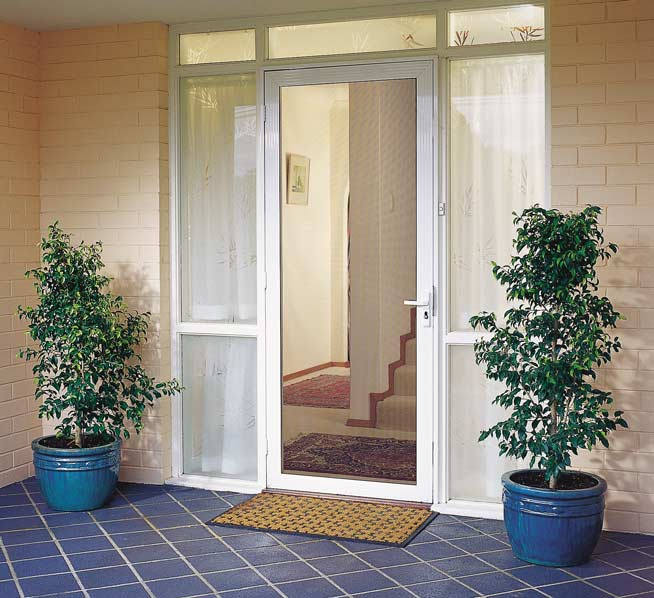 ClearShield-Security-Screen-Door-at-front-of-house